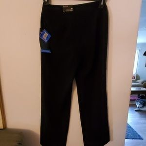 Style & Co Pants - Style & Co Stretch Straight Leg Black Pants - 2PS